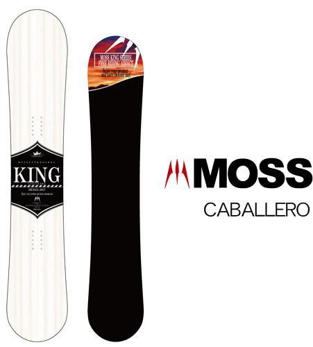 【 19-20 MOSS CABALLERO 】スノーボード モス キャバレロ