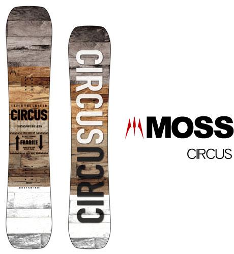 【 19-20 MOSS CIRCUS 】スノーボード モス サーカス
