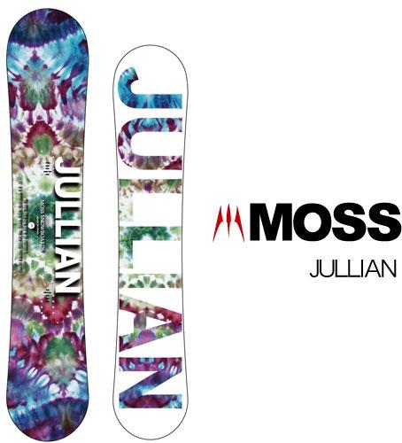 【 19-20 MOSS JULLIAN 】スノーボード モス ジュリアン