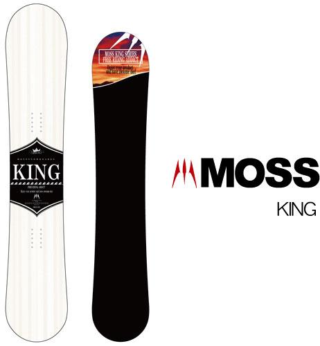 【 19-20 MOSS KING 】スノーボード モス キング