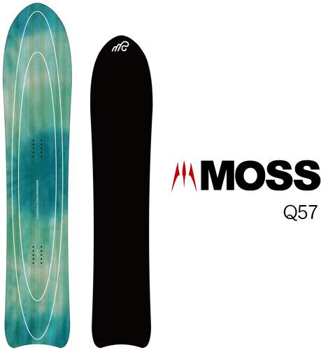【 19-20 MOSS Q57 】スノーボード モス パウダー