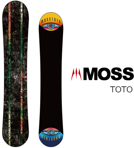 【 19-20 MOSS TOTO 】スノーボード モス トト