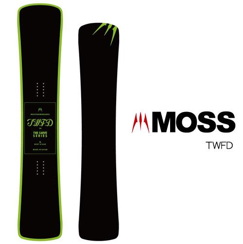 【 19-20 MOSS TWFD 】スノーボード モス ツイスターフリーダム