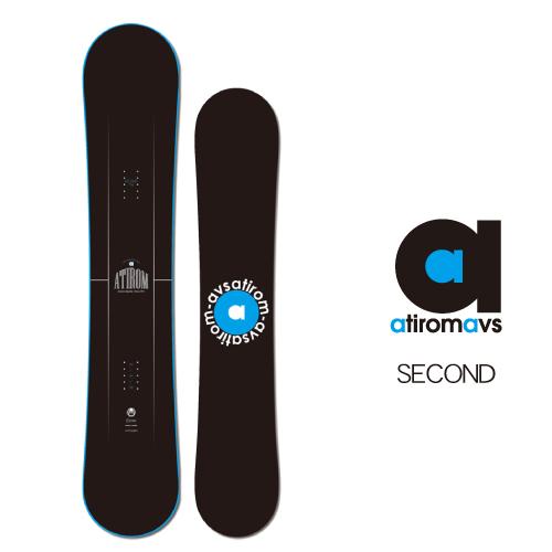 【20-21 ATIROM SECOND】アチロム セカンド スノーボード 国産ボード ツインチップ 143/149/151