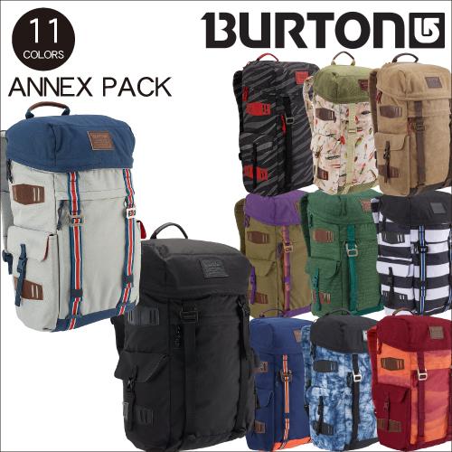 Burton annex pack bag rucksack men gap Dis domestic regular article  snowboarding popularity black black attending school commuting rucksack  notebook