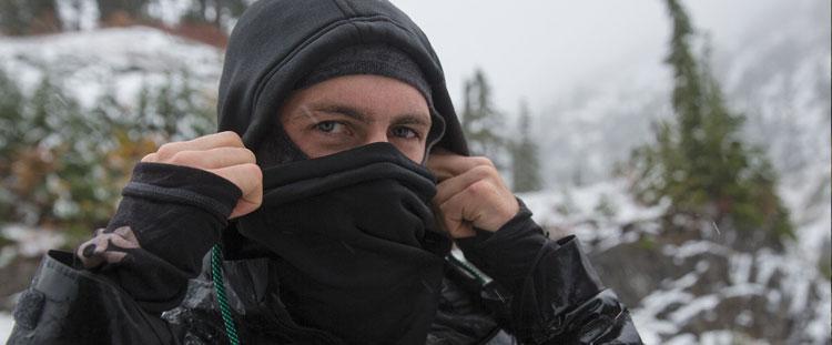 Coal Mens Fleece Hood Se Balaclava