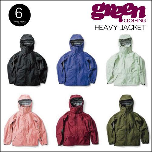 【 18-19 2019 GREEN CLOTHIG HEAVY JACKET 】グリーンクロージング ヘビージャケット スノーボードウェア