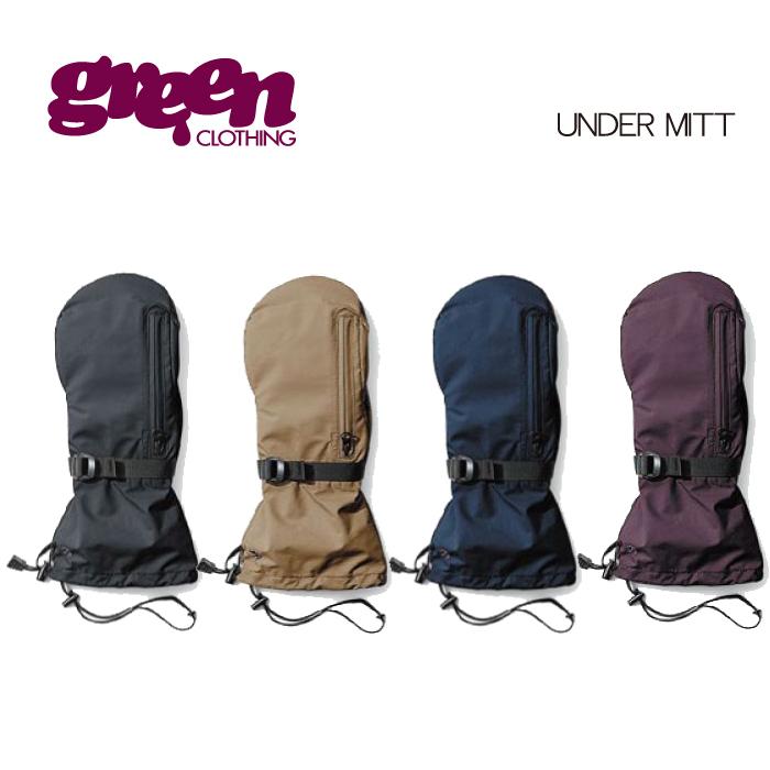 【 19-20 2020 GREEN CLOTHIG UNDER MITT 】グリーンクロージング アンダーミット