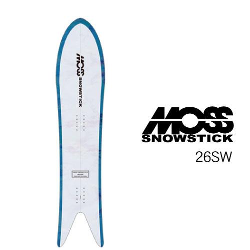 【 19-20 MOSS SNOWSTICK 26SW 】 モス スノースティック [パウダーボード/バックカントリー/スノーサーフ]