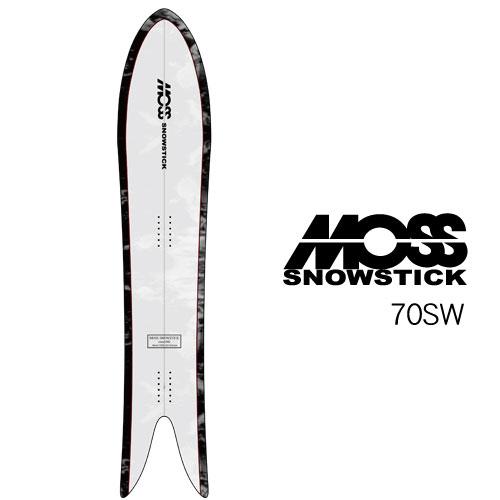 【 19-20 MOSS SNOWSTICK 70SW 】 モス スノースティック [パウダーボード/バックカントリー/スノーサーフ]