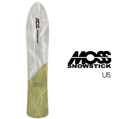 【 19-20 MOSS SNOWSTICK U5 (157cm) 】 モス スノースティック [パウダーボード/バックカントリー/スノーサーフ]