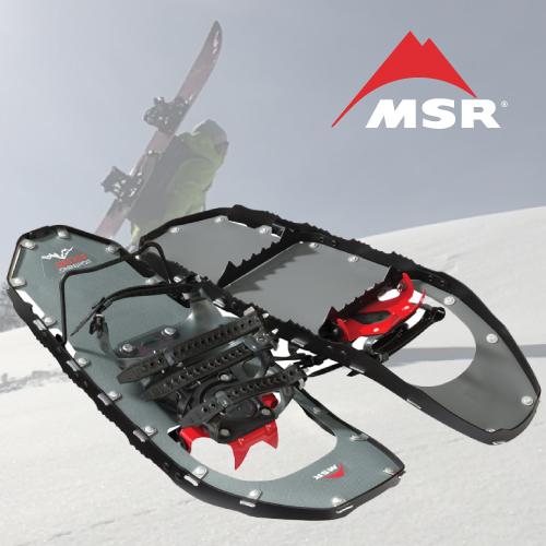 【MSR LIGHTNING 3STRAP ASCENT スノーシュー】ライトニング 3ストラップ アッセント メンズ バックカントリー スノーボード ハイクアップ かんじき 軽量 国内正規品 送料無料