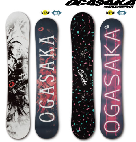 【 18-19 2019 OGASAKA AST 】 オガサカ スノーボード 142/145/149/152/154
