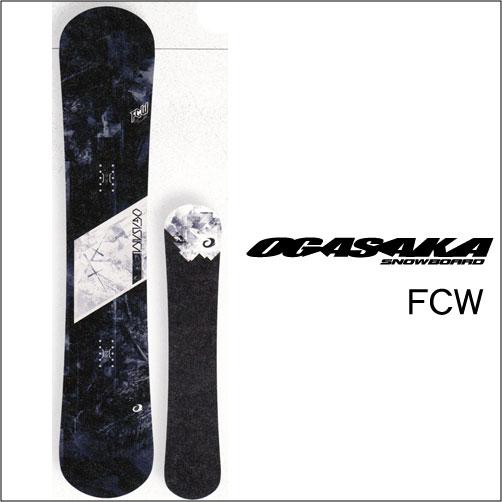 【 18-19 2019 OGASAKA FCW 】 オガサカ スノーボード 157/160