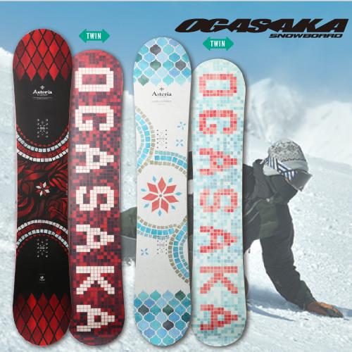 【 19-20 OGASAKA AST 】 オガサカ スノーボード 142/145/149F/149/152/154