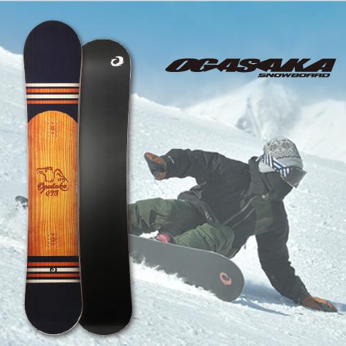 【 19-20 OGASAKA CT-S 】 オガサカ スノーボード 154/156/158/161 [テクニカル/オールラウンド/カービング]