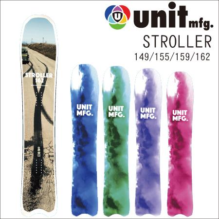 【 18-19 2019 UNIT STROLLER 】 ユニット ストローラー スノーボード 149/155/159/162 [パウダー/フリーラン]