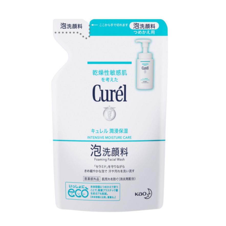 キュレル 爆買い新作 ストアー 泡洗顔料 潤浸保湿 医薬部外品 つめかえ 130ml