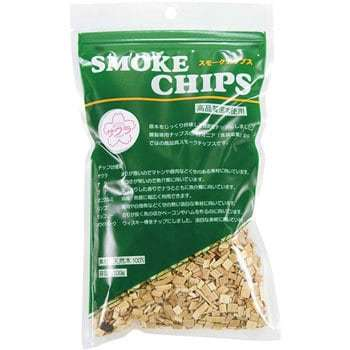燻製料理を手軽に スモークチップ サクラ 100g 訳あり商品 キャンプ セールSALE%OFF 燻製 アウトドア