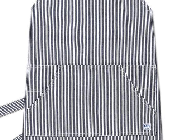 LEE リー エプロン LCK79003 BIB 胸当てストレッチ デニム ヒッコリー フリーサイズメンズ レディース ユニセックス かわいい おしゃれ 胸当てエプロン カフェ ガーデニング