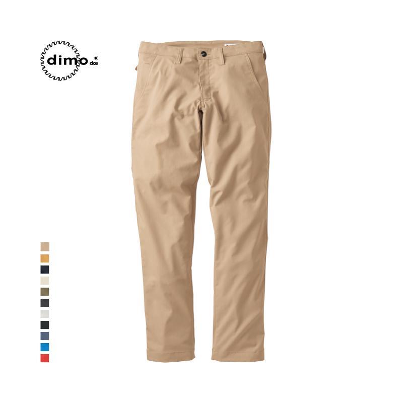 dimo ストレッチ メンズパンツ 吸汗速乾 イージーケア メンズ パンツ ワークパンツ おしゃれ 大きいサイズ