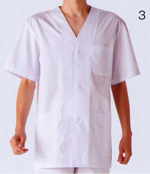 1 612 Cooking Clothing Men S Short Sleeve 1 Color Kitchen Cooking White Uniforms Montblanc Montblanc