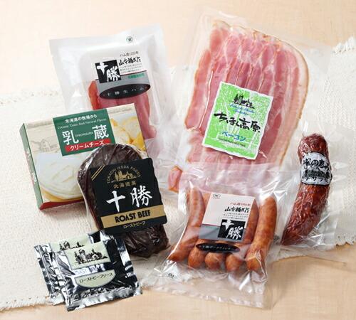 北海道から産地直送 送料無料 十勝ハム チーズ 6種詰合せ お祝 ギフト お返し お取り寄せ お得セット 公式ショップ 内祝