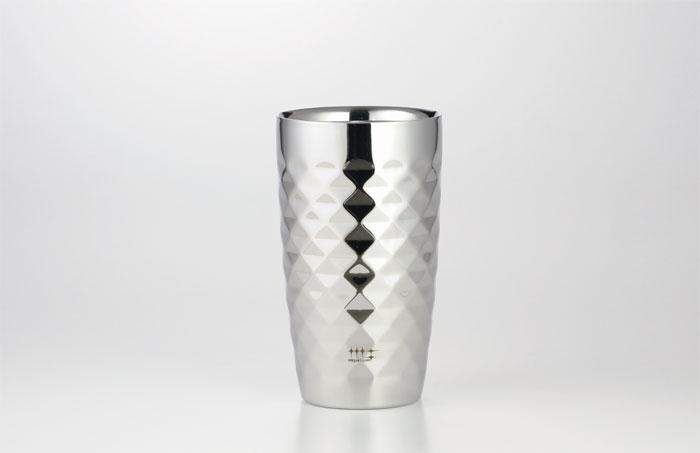 磨き屋 シンジケート 2重ビアタンブラー 370ml(ダイヤモンドカット仕上げ)日本酒/父の日 お父さん/プレゼント 父の日/プレゼント 父の日/酒