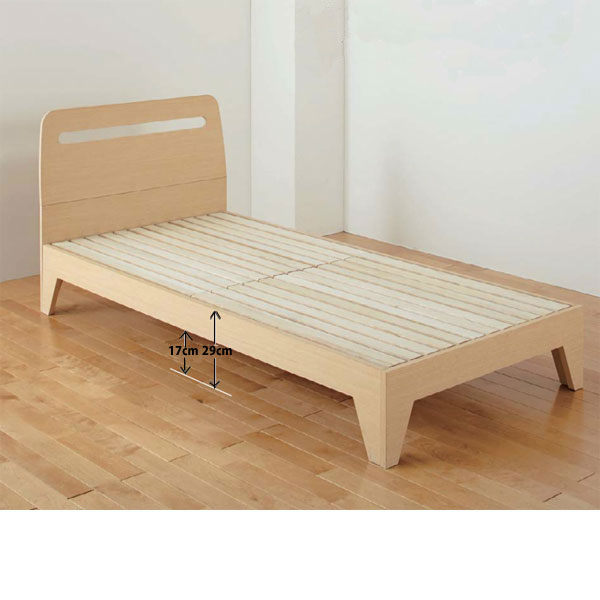 Nishikawa bed SOVA- sorva - SV-001 bed frame (only as for the frame) single (★ zz made in simple functional Japan which there is no W100 X L210 X H85 )★ wooden bed frame nature paulownia wood materials drainboard floor board drawer in)