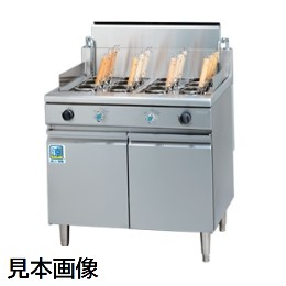 【新品】角型ゆで麺器(省エネタイプ) タニコー TGUS-90AW 【1年保証】【業務用】