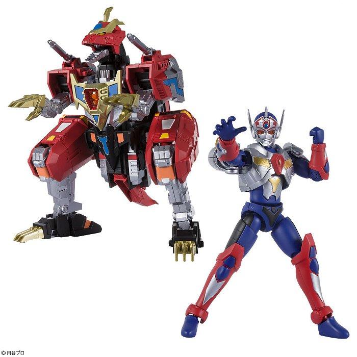 食玩スーパーミニプラ 電光超人グリッドマン  ダイナドラゴン&グリッドマンシグマセット