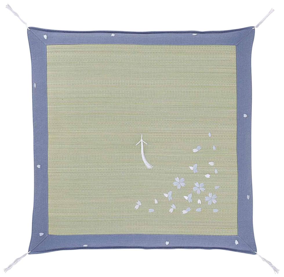 夏用いぐさ(い草イ草イグサ)座布団65×65cm【送料無料】 華の風