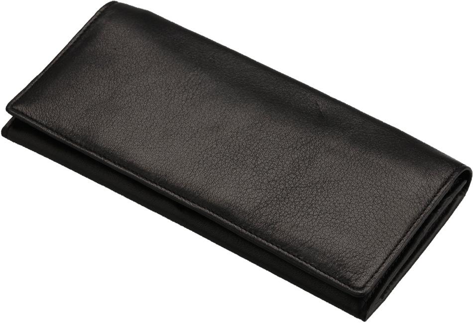 日本製 本革利用 マイスター匠 長財布 黒色 19×9cm