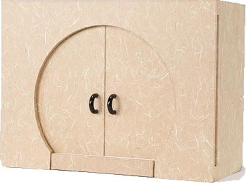 家具調 モダンなデザイン 越前和紙 仏壇 日本製 ベージュ