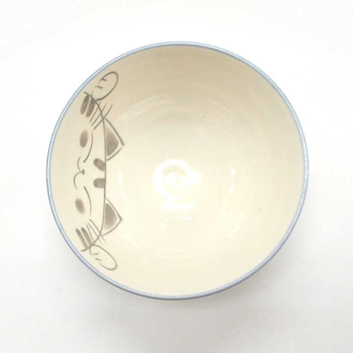 ご飯茶碗 大平 粉引ミケ 陶器