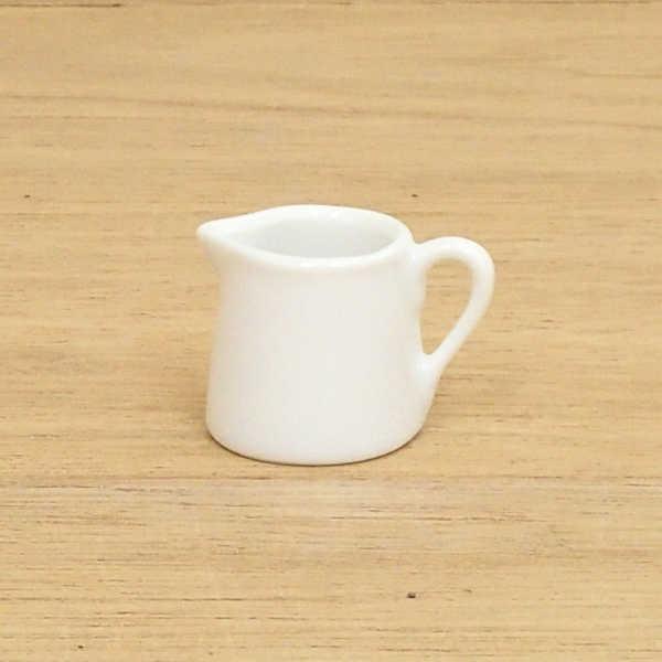 クリーマー ミルクポット 白 陶器 業務用 カフェ 食器 美濃焼 小さい かわいい カフェ食器 ミルクピッチャー 陶器 1人用クリーマー ミルクポット 白 陶器 業務用 カフェ 食器 美濃焼 小さい かわいい カフェ食器