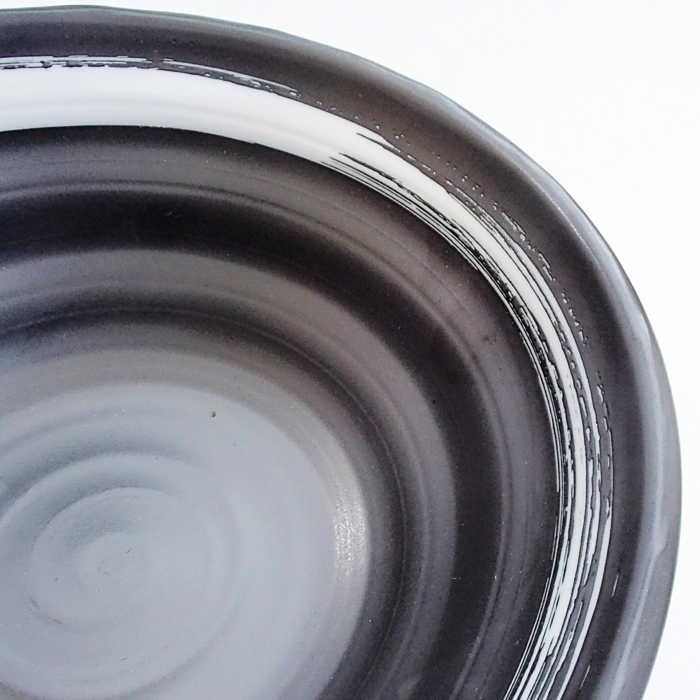 ラーメン どんぶり 21cm鳴門麺丼 白刷毛 ラーメン丼/おしゃれ/定番/ラーメン鉢/陶器/日本製/美濃焼/業務用 通販
