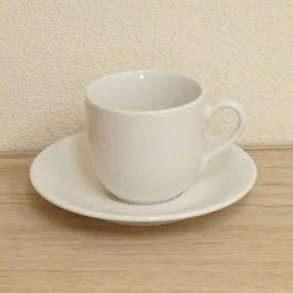 コーヒーカップ 白 オンラインショッピング 陶器 業務用 美濃焼 ニューボン スタンダード セサミコーヒーカップ シンプル ソーサー 今季も再入荷