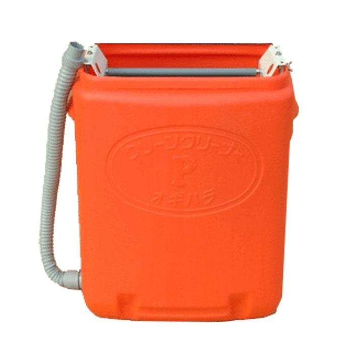 1年保証【送料無料】育苗箱洗浄機 クリーンクリーナーP手動式オギハラ工業