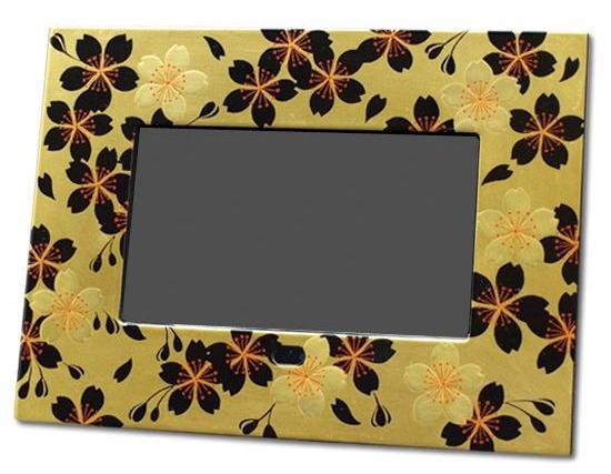 数码相框牧江金樱桃 DPF 日本日本设计的父亲的一天妈妈一天祖父母天海外纪念品日本纪念品出生庆祝新庆祝漆纪念品回忆照片家庭礼物礼物礼物庆祝生日挖胶片照片的相册。