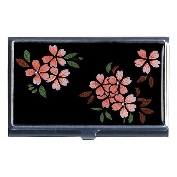 洁具卡 (卡持有人) 银牧江施华洛世奇樱桃花日本日本设计日本礼物海外纪念品纪念品母亲,父亲,祖父母节礼物礼物庆祝的就业