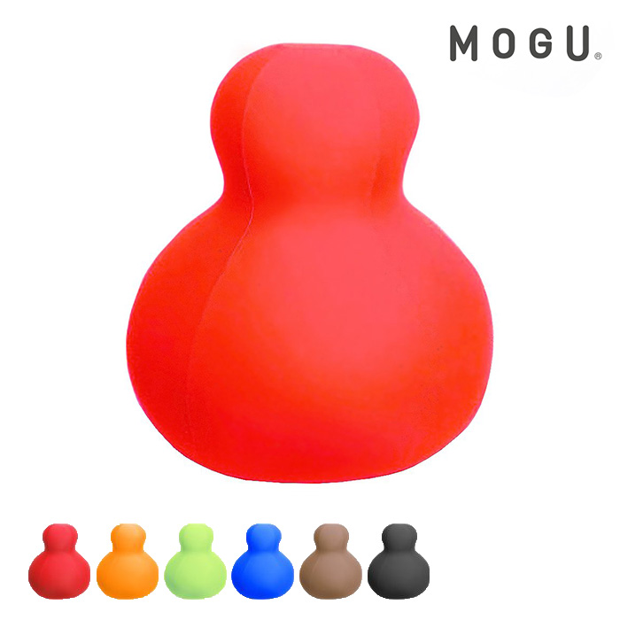 MOGU ダルマンソファ本体(カバー付) レッド ライトグリーン オレンジ ブラウン ロイヤルブルー ブラック 【●】【リスト済】