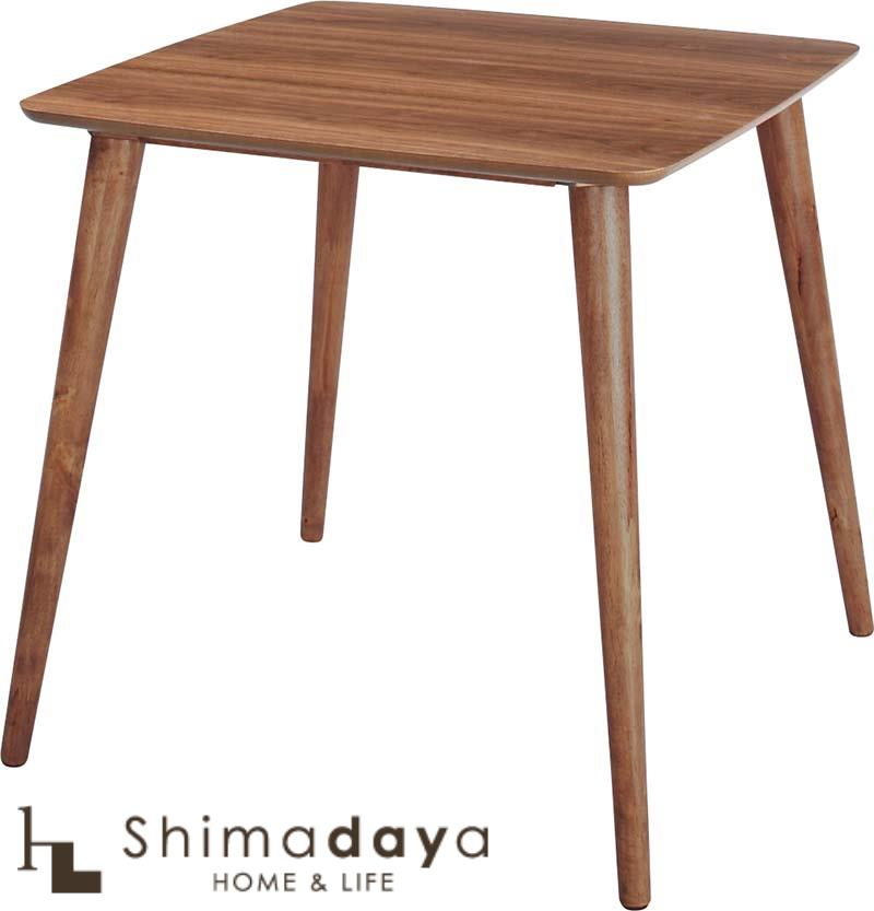 【送料無料】Tomte(トムテ) ダイニングテーブル TAC-241WAL 【代引き不可】 東谷 AZUMAYA 【AZ】【0830】