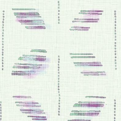 メラミン化粧板 バリエーション(京かたがみ) LJ-10084K 4x8 七宝くずし(浅緑)