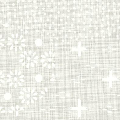 メラミン化粧板 バリエーション(京かたがみ) LJ-10098K 4x8 霞取り小紋(白ねず)