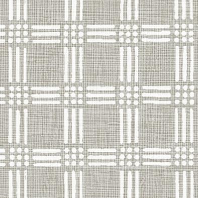 メラミン化粧板 バリエーション(京かたがみ) LJ-10102K 4x8 三筋格子(灰色)