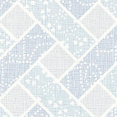 メラミン化粧板 バリエーション(京かたがみ) LJ-10149K 4x8 菱格子取り(空色)