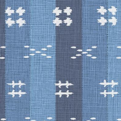 メラミン化粧板 バリエーション(京かたがみ) TJ-10078K 4x8 縞絣(藍色)