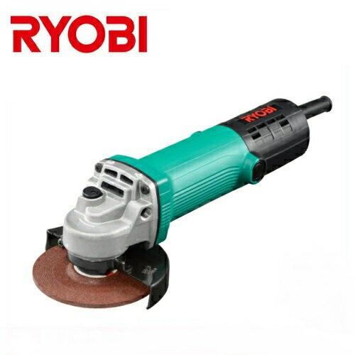 【RYOBI】リョービ販売<直径φ56mm細握りモデル> 100mmディスクグラインダ G-1061(高速回転型)