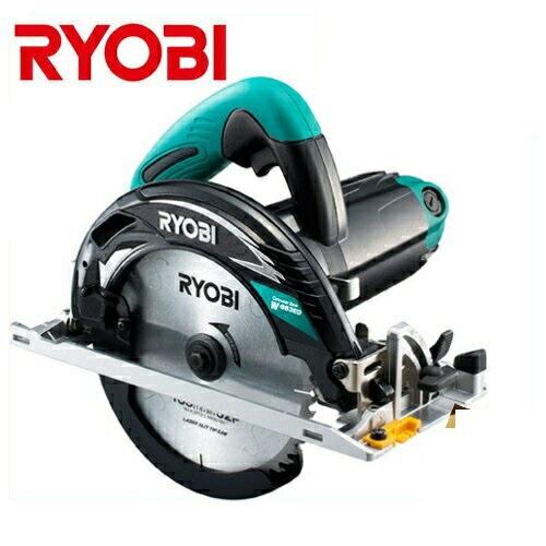 【RYOBI】リョービ販売 165mm深切り電子マルノコ(逆傾斜5°可能)(最大切込み深さ:66mm) W-663ED(チップソー付)(スライドシート仕様)